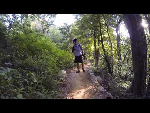 Fall Mountain Biking in Cherokee Park