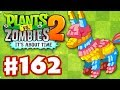 Plants vs. Zombies 2: It's About Time - Gameplay Walkthrough Part 162 - Pi�ata Party (iOS)
