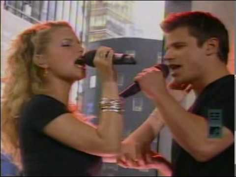 Jessica Simpson & Nick Lachey- Where You Are (TRL)
