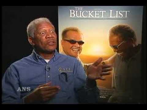 JACK NICHOLSON ON MORGAN FREEMAN BUCKET LIST