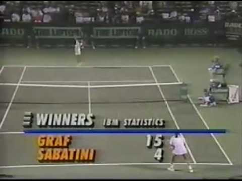 Gabriela Sabatini v Steffi Graf Miami 1993 pt2