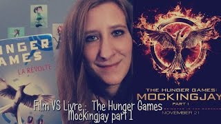 Film Vs Livre : The Hunger Games Mockingjay Part1 - La révolte