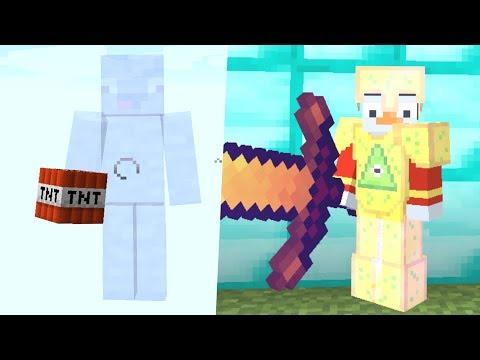 Unsichtbarer Noob mit Gamemode 1 gegen Einen Pro.. Minecraft Lucky Block Falle / Troll