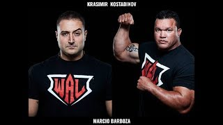 Krasimir Kostadinov vs. Marcio Barboza: World Armwrestling League 503 full match