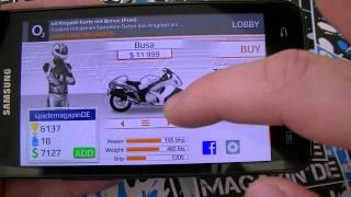 Android Spieletest: Drag Racing Bike Edition
