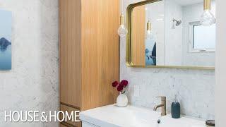 Makeover Small Modern Family Bathroom Reno