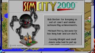 SimCity 2000 credits