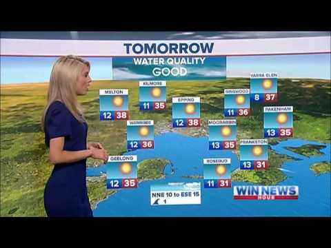 Nine News Melbourne Weather and Closer 2/01/2013