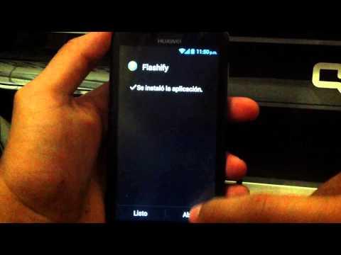 Como rootear e instalar CWM recovery para Huawei Y511  HD