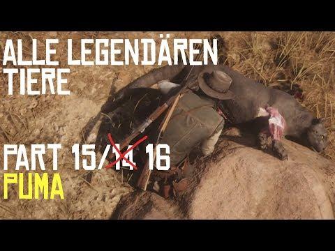 RED DEAD REDEMPTION 2 | JAGEN | ALLE LEGENDÄREN TIERE PART 15/14 Der Puma