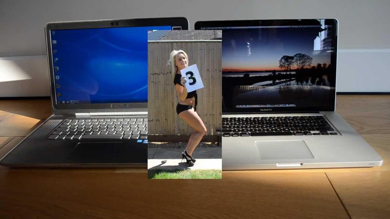 Dell Xps 15z Vs Apple Macbook Pro 15 Inch Youtube