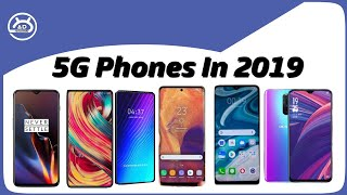 Confirmed 5g Phones In 2019!