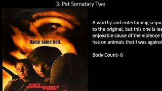 All 3 Pet Sematary Movies Ranked (Worst to Best)