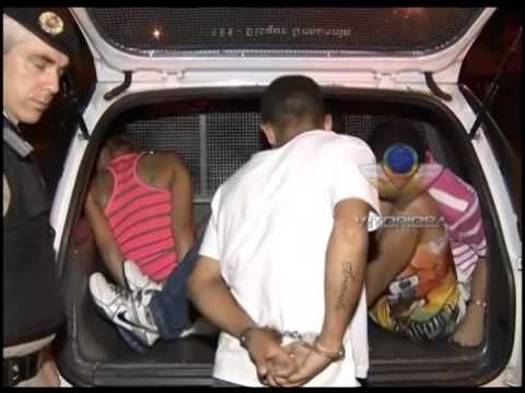 Quatro são detidos no Terminal Central com arma e munição