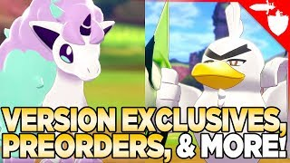 Should You Buy Pokemon Sword OR Shield? Version Exclusives, Wild Area Map, Install Size & More