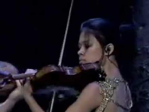 Vanessa Mae Storm Classical Brit Awards 2000