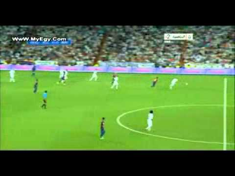 real vs barsa super cup 2011  2éme mitemp