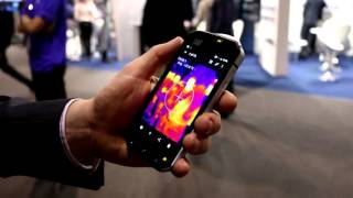 Cat S60 rugged phone with thermal camera - Demo