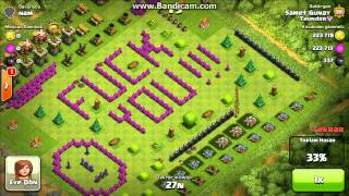 Funny village , easy booty :) clash of clans