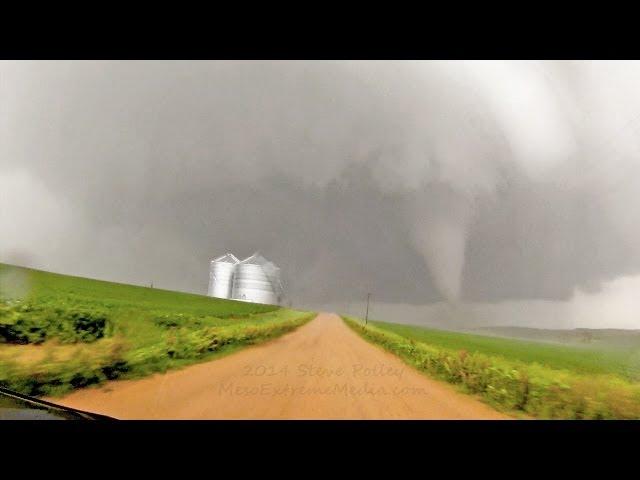 Coleridge Tornadoes 15x Timelapse June 17 2014