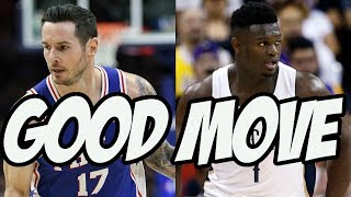 JJ Redick Is Perfect For The New Orleans Pelicans | 2019 NBA Free Agency