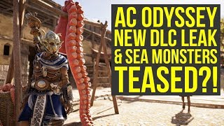 Assassin's Creed Odyssey DLC Leak & Hint At Sea Monster? Episode 3 tease & More! (AC Odyssey DLC)