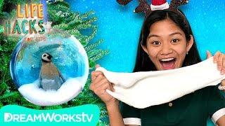 Snow Slime Christmas Ornament | LIFE HACKS FOR KIDS