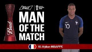 Kylian MBAPPE (France) - Man of the Match - MATCH 50