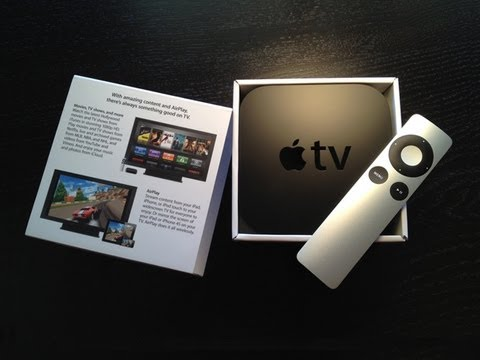 Official Apple TV 3rd-Generation 1080p Unboxing And Overview