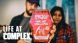 EATING THE HOTTEST CHIP IN THE WORLD! | #LIFEATCOMPLEX