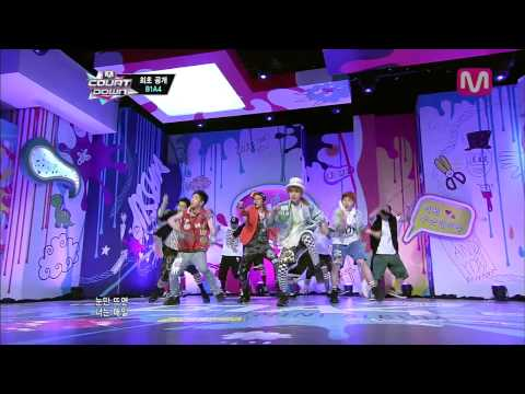 B1A4_   (What's Going On by B1A4@Mcountdown 2013.5.9)