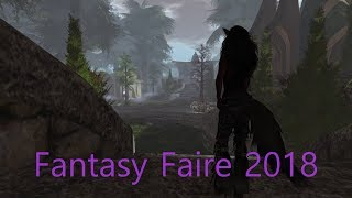 Fantasy Faire 2018 an Epic Walk Round