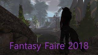 Fantasy Faire 2018 an Epic Walk Round