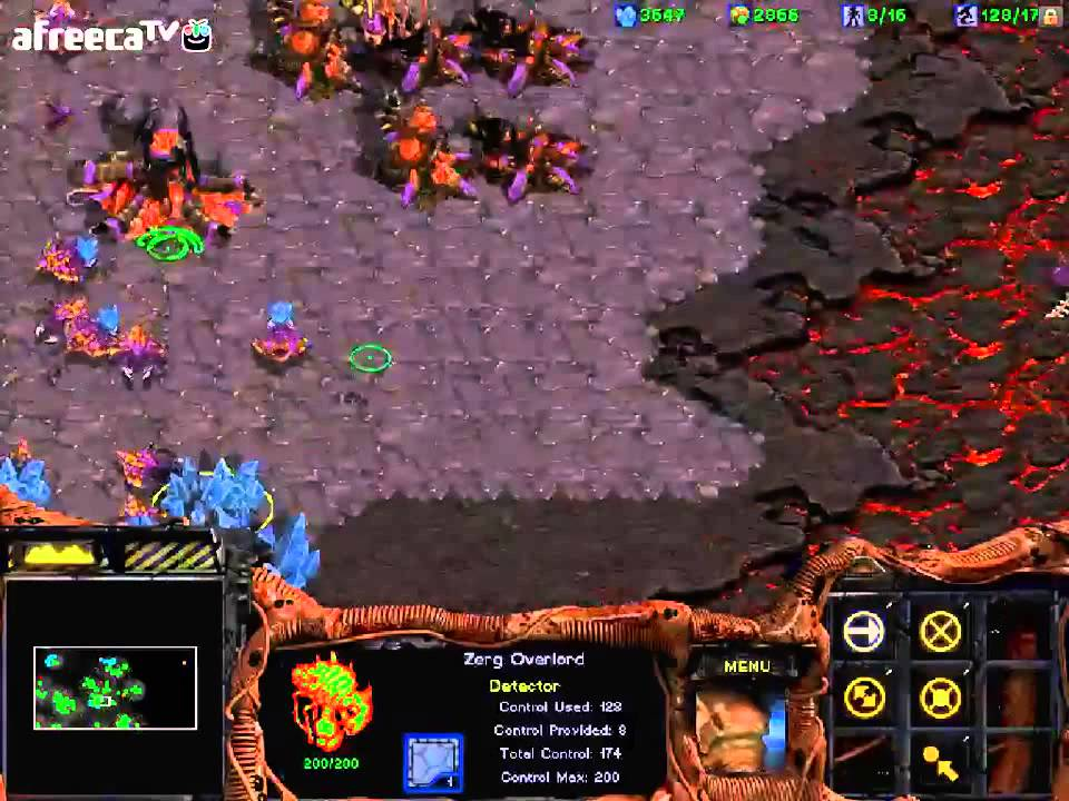 Starcraft BroodWar Zerg Stage 8. To Slay the Beast - YouTube