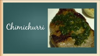 Cooking | Como hacer chimichurri | Como hacer chimichurri