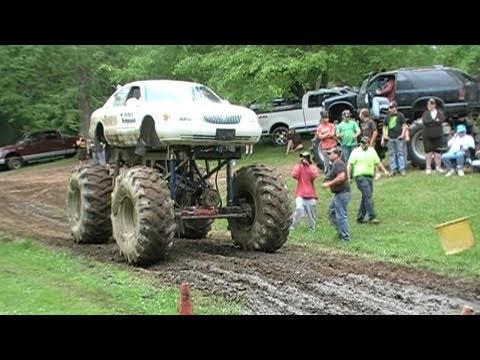 Monster 4x4 Mud Trucks at Good Time 4x4's June 12Th 2011