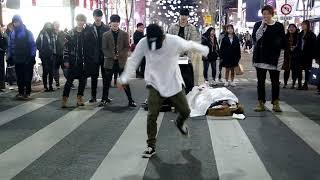 JHKTV]신촌공연 디오비shin chon k-pop dance dob 뿜뿜 bboom bboom