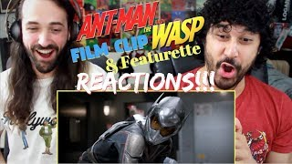 "ANT MAN AND THE WASP - ""Scenic Tour"" MOVIE CLIP & ""It Takes Two"" Featurette REACTIONS!!!"