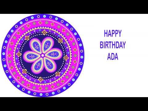 Ada   Indian Designs - Happy Birthday video