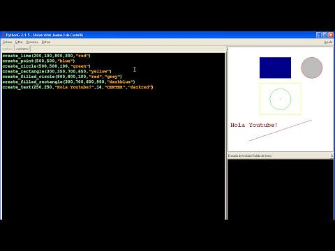 Tutorial de Python en Español # 11 - Gráficos