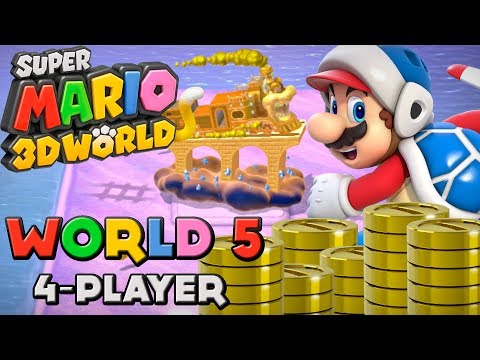 Super Mario 3D World - World 5 (4-Player)