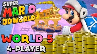 Super Mario 3D World - World 5 (4-Player)