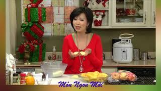 Uyen Thy's Cooking - Candied Walnut và Táo Nướng