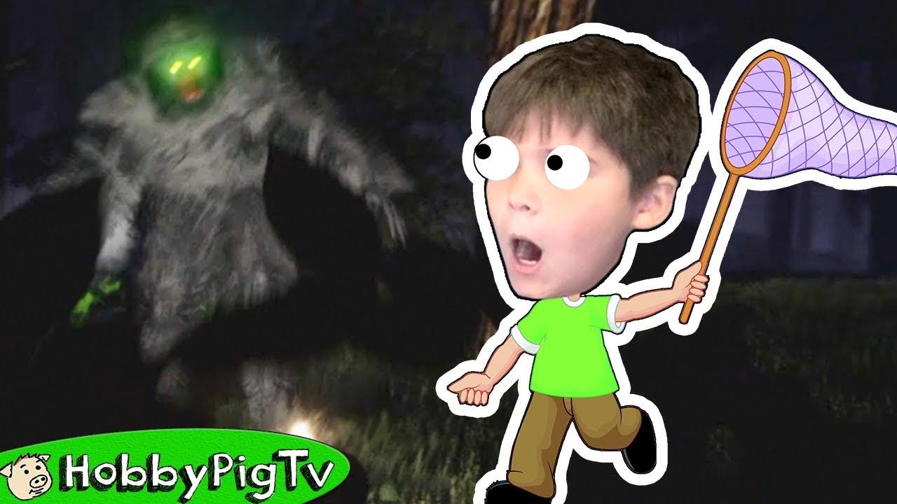 Finding Big Foot HobbyPigTV