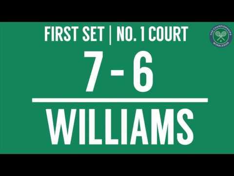 2016, Day 1 Highlights, Venus Williams vs Donna Vekic