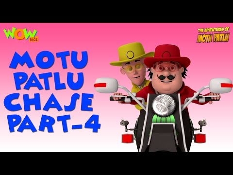 Chase - Motu Patlu Compilation - Part 4 As seen on Nickelodeon As seen on Nickelodeon thumbnail