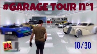 "#MY GARAGE TOUR N°1 -10/30 CARS! ""Eclipse Towers Apartment""{PS4 GTA5 Online Garage Tour Custom Cars}"