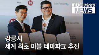 R]강릉시, 마블 테마파크 유치 추진 관심