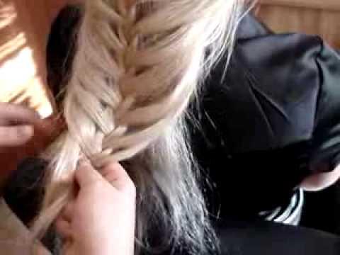 плетем модные косы видео