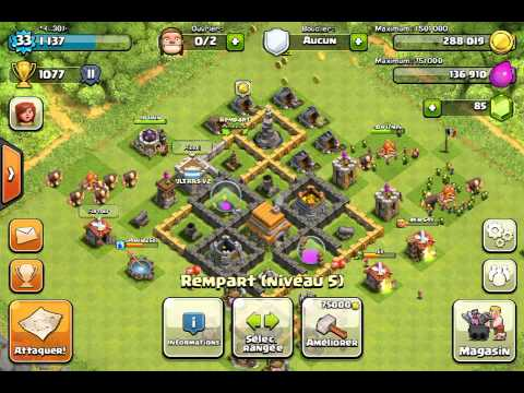 comment construire clash of clans
